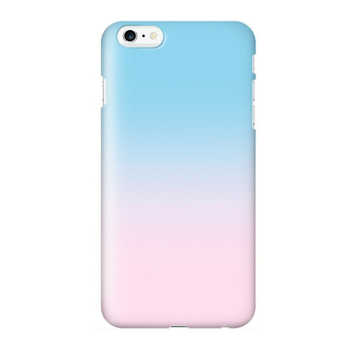 Moody Cotton Candy - Colorful iPhone Case Picograph Smartphone Case