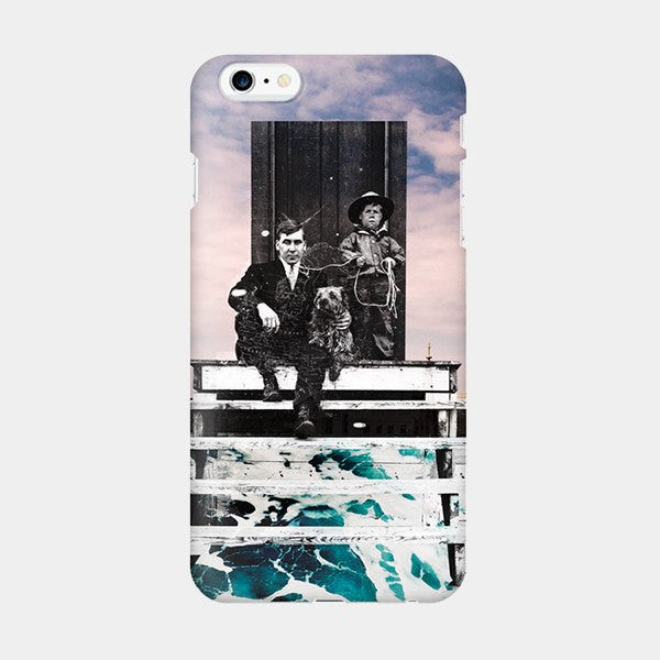Papa and Son - iPhone Case Picograph Smartphone Case