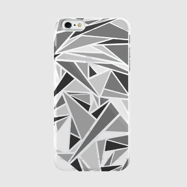 Triangle Pattern - iPhone Case Picograph Designers Republic ClassyZYang Smartphone Case