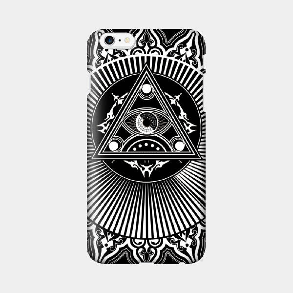 True Eye V1 - iPhone Case Picograph Designers Republic ClassyZYang Smartphone Case