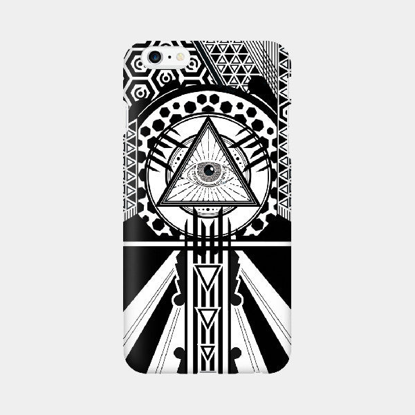 True Eye V2 - iPhone Case Picograph Designers Republic ClassyZYang Smartphone Case