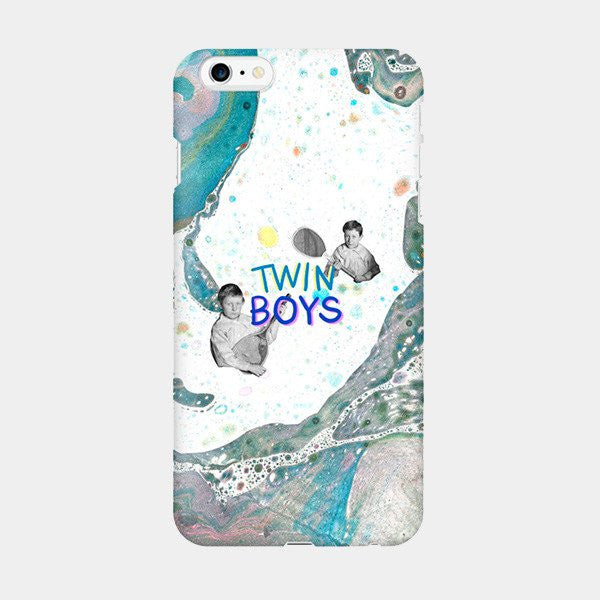 Twin Boys - iPhone Case Picograph Smartphone Case