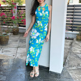 Seabreeze Cut - Out Maxi Dress