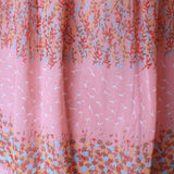 Sweet Peach Floral Dress (20% OFF)