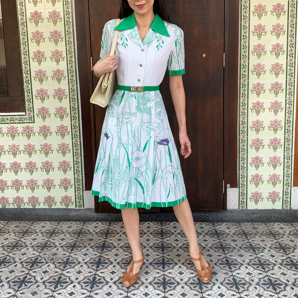 Shamrock Green Dress