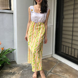 Sunny Wallflower Maxi Dress (20% OFF)