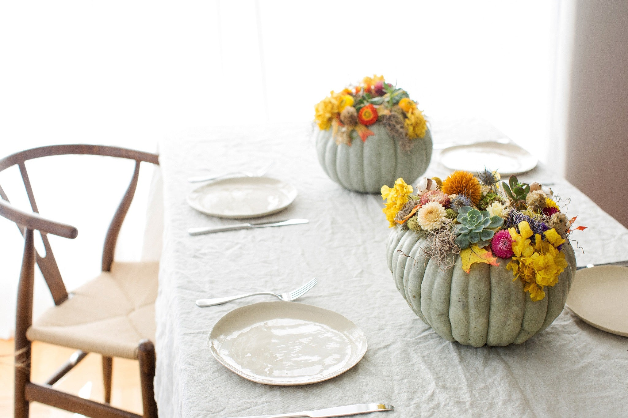 Thanksgiving Table Trends for 2016 by Club Botanic