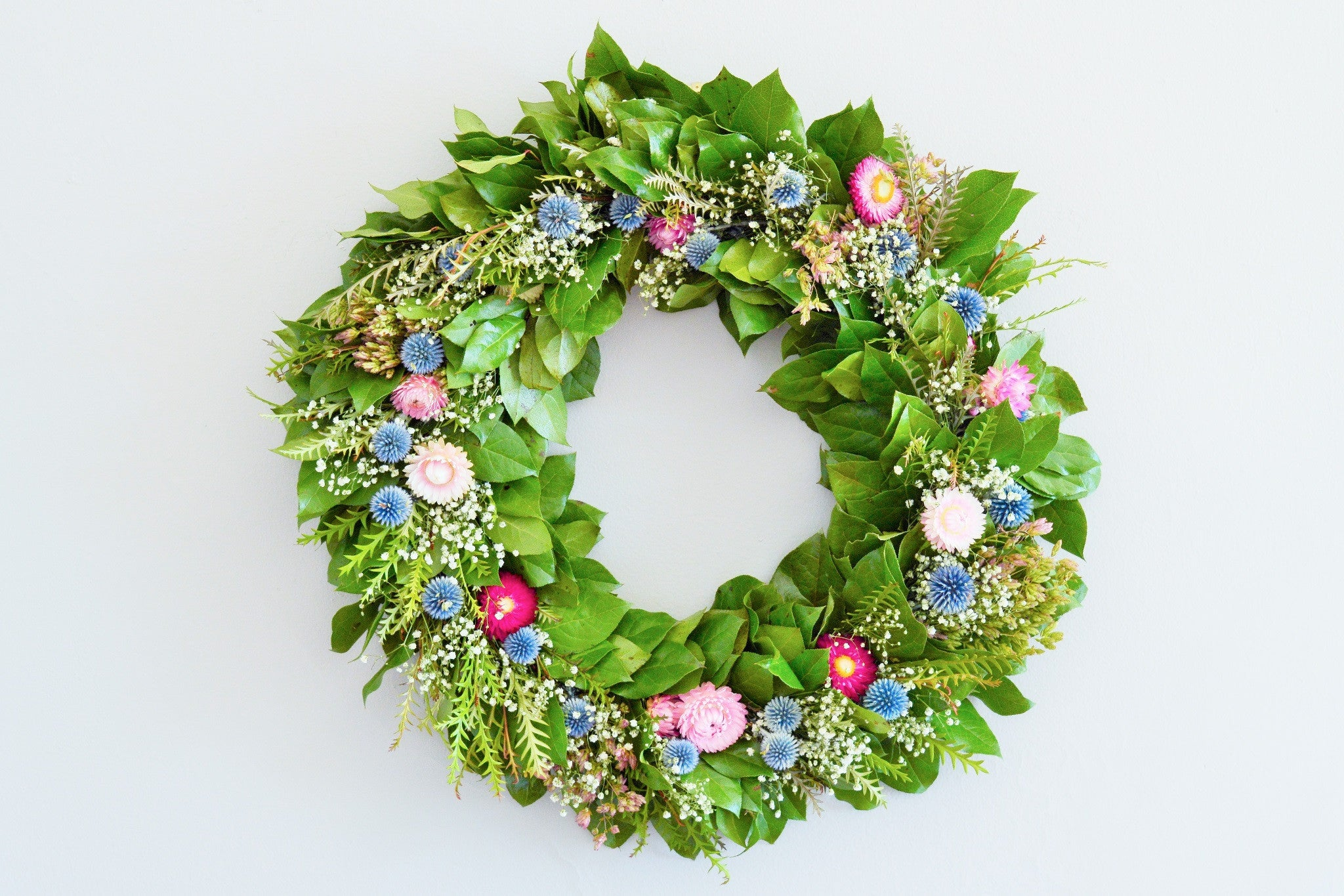 Celebrate Summer with a Summer Door Wreath from Club Botanic