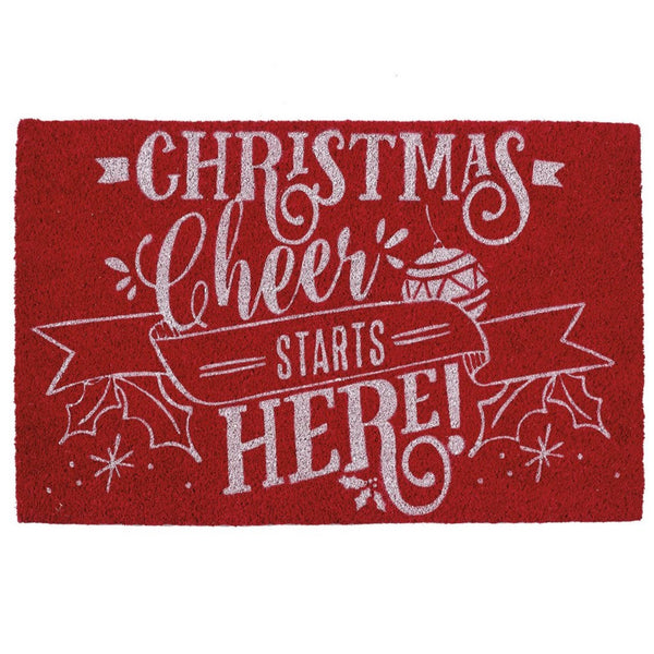 Christmas Cheer Doormat - Club Botanic