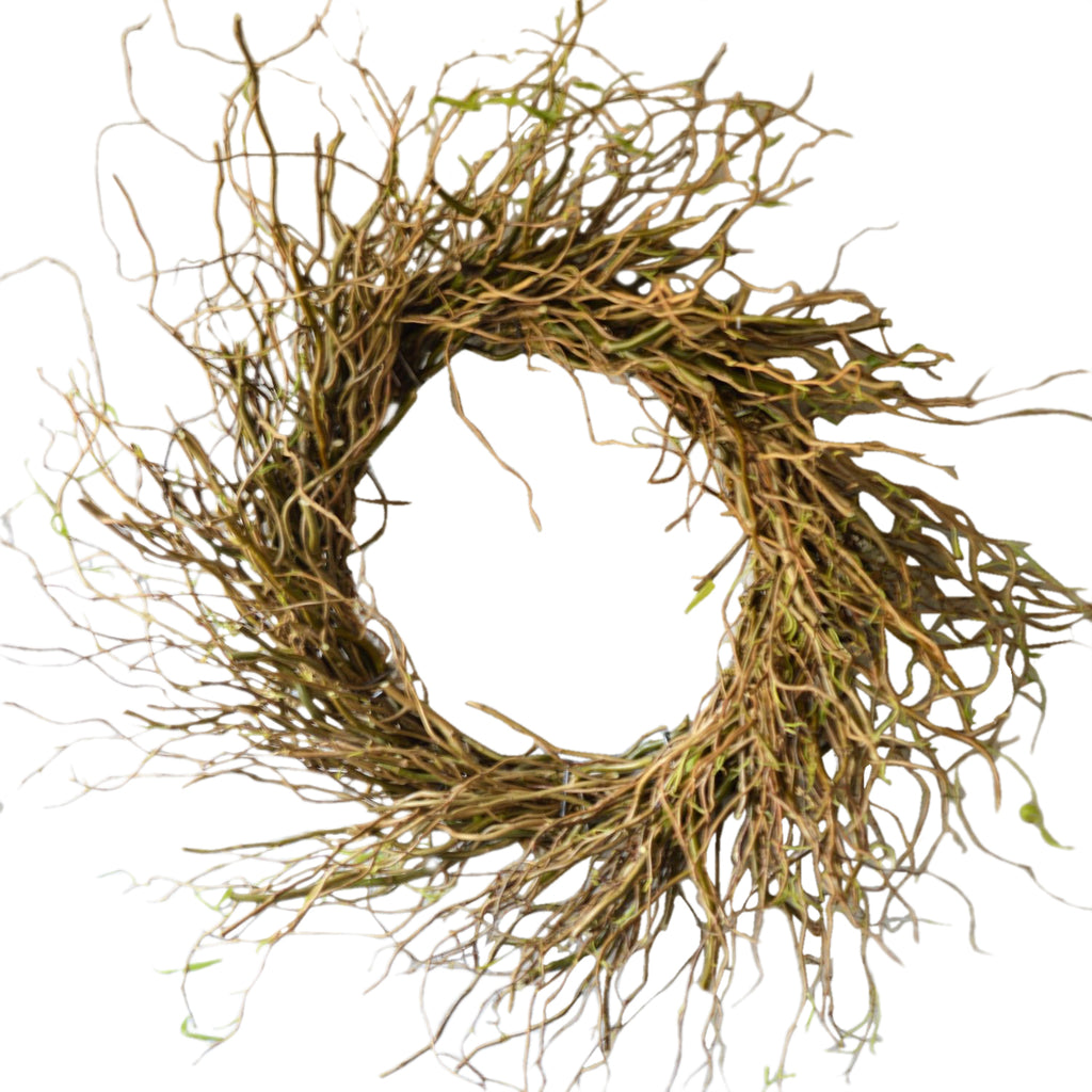 Curly Willow Wreath for Fall | Dry Wreath for Fall | Twig Wreath