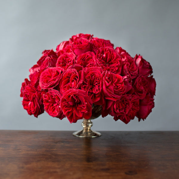 Red Garden Rose Bouquet beautiful bouquets - flower delivery - florist - fresh flowers