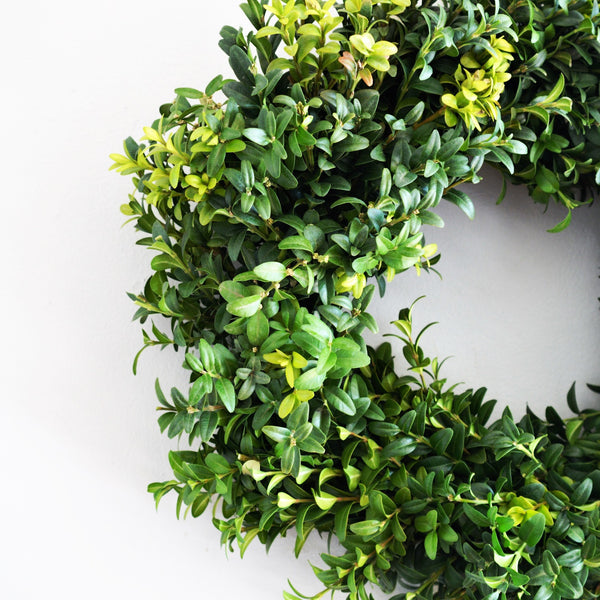 Boxwood Wreath | Front Door Wreaths for Summer | Summer Wreaths | Wreath Gift Ideas