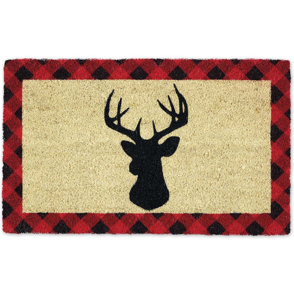 Holiday Stag Doormat - Club Botanic