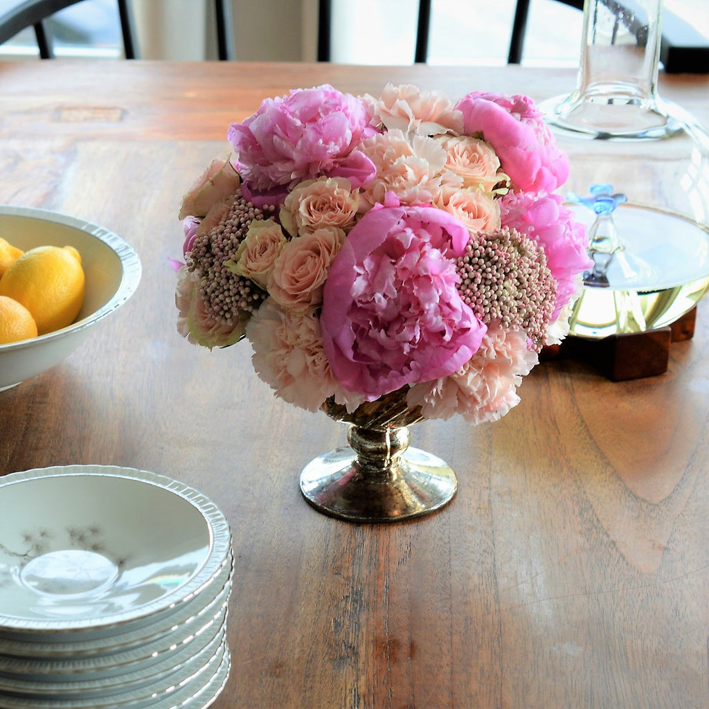 Pink Peonies | Peony Flowers | Pink Table Centerpieces | Beautiful Flower Arrangements