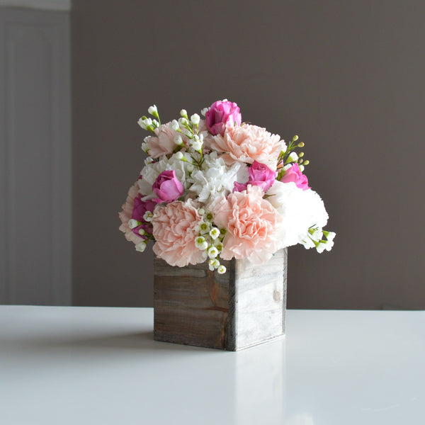 Pink and Purple Flowers | Spray Roses | Pink Carnations | Birthday Flowers | Just Because Flowers | Thank You Flowers | Get Well Flowers
