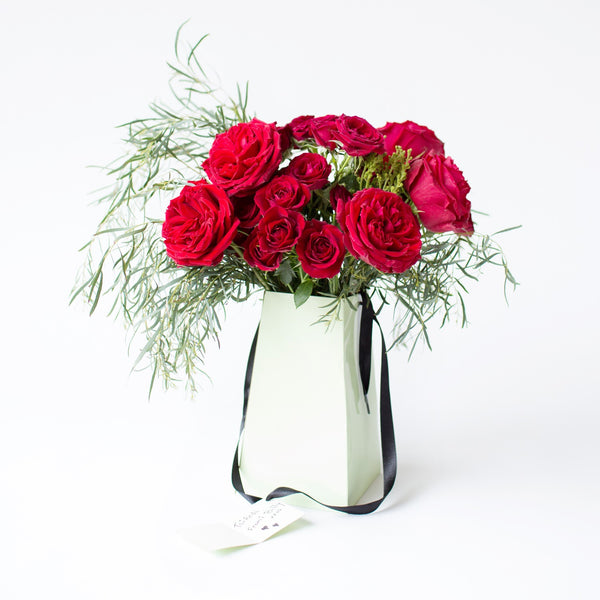 Send Red Roses in a Flowerbox