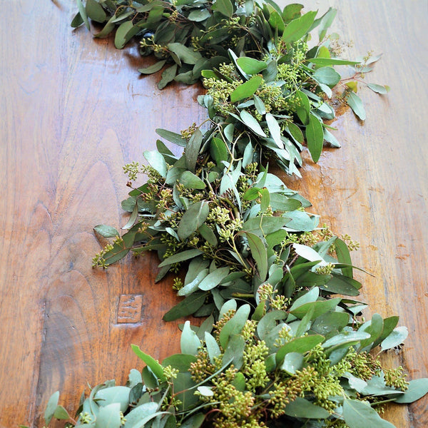 Seeded Eucalyptus Garland Fresh Garland Wedding