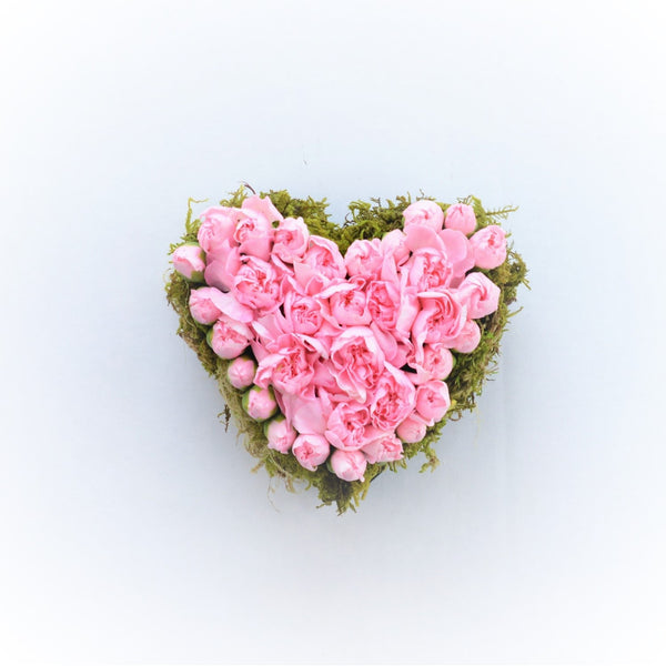 Pink Heart Pave | Valentine's Day Heart | Send Valentine's Day Flowers