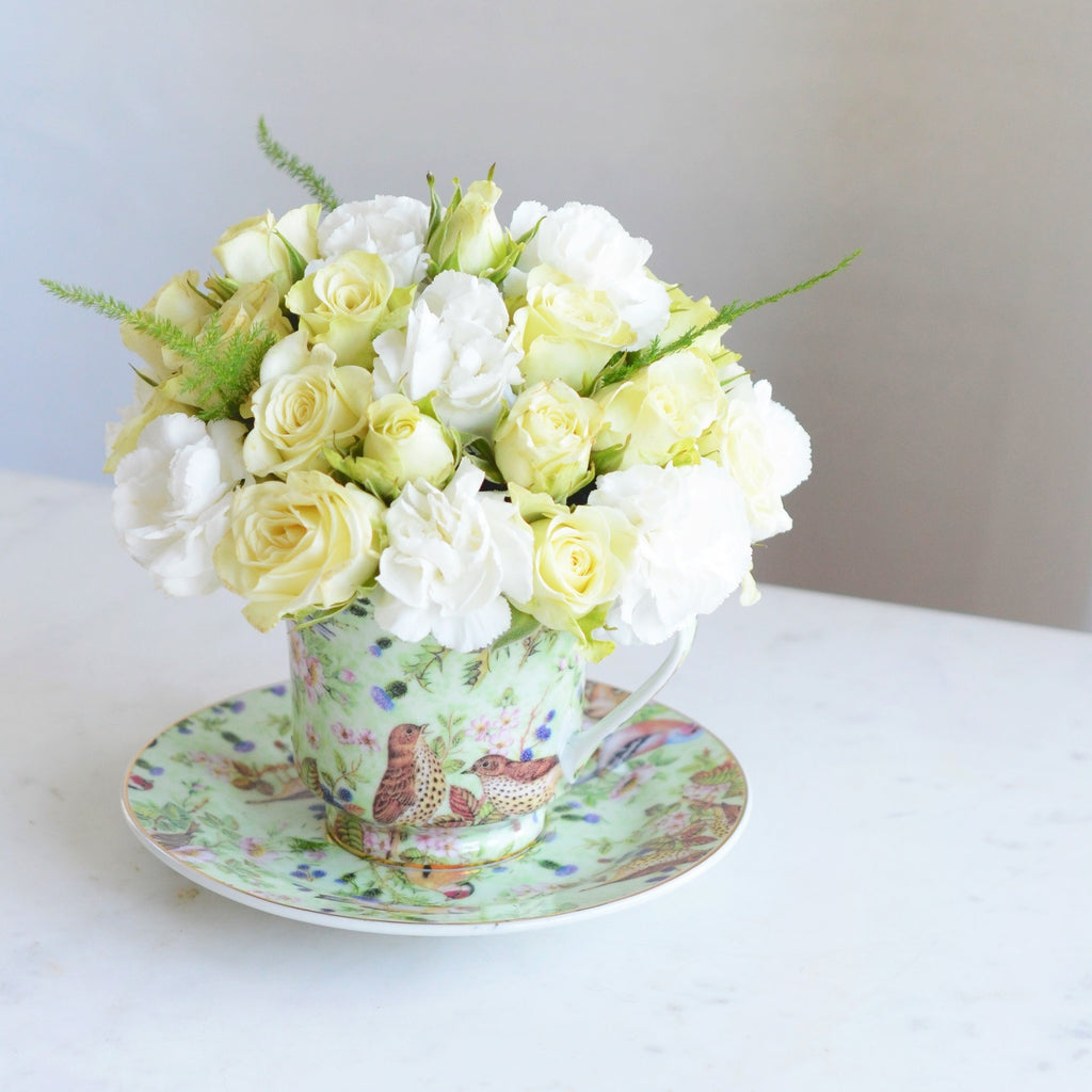 Mother's Day | Teacup Bouquet | Teacup Arrangement | Mother's Day Flowers | Send Flowers