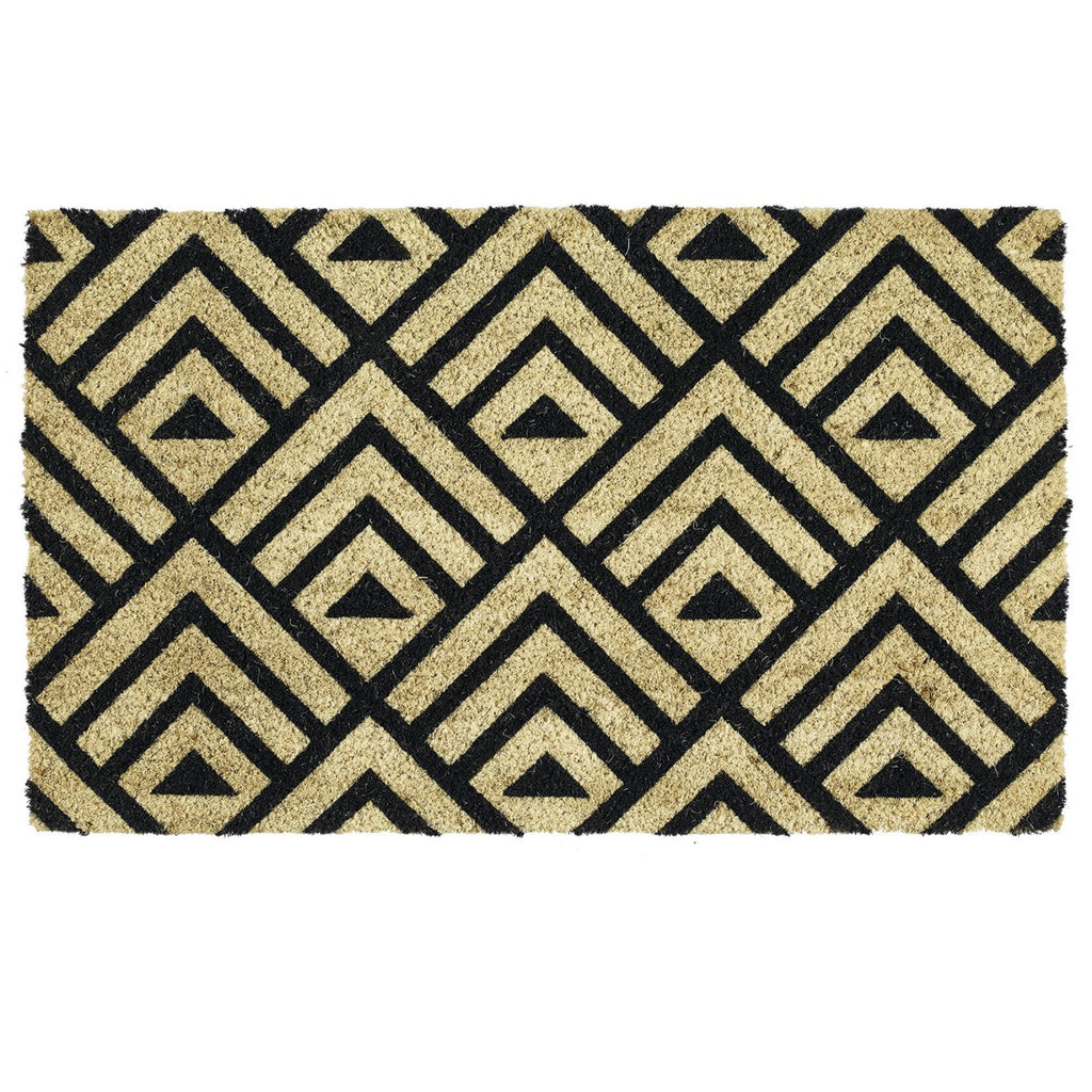 Tri Deco Doormat | Trideco Doormat | Door Mat | Outdoor Decor | Patio Rug | Coir Doormat