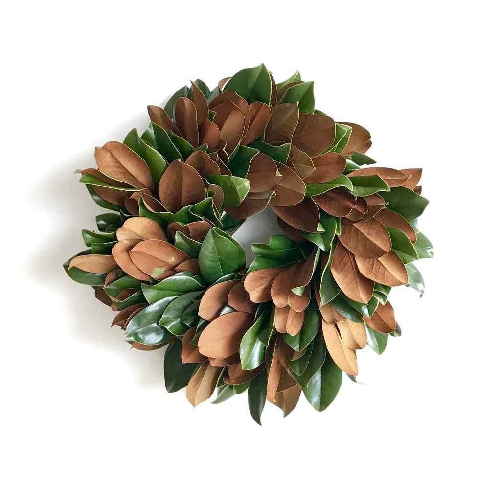 Golden Magnolia Wreath