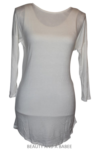 CA Tunic - White