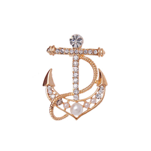 15ae414dd Hope Anchor Brooch - Greaser Lifestyle Affordable Clothing & Accessories