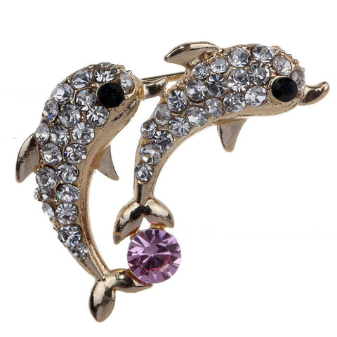 73ab653eb Dolphins Brooch - Greaser Lifestyle Affordable Clothing & Accessories