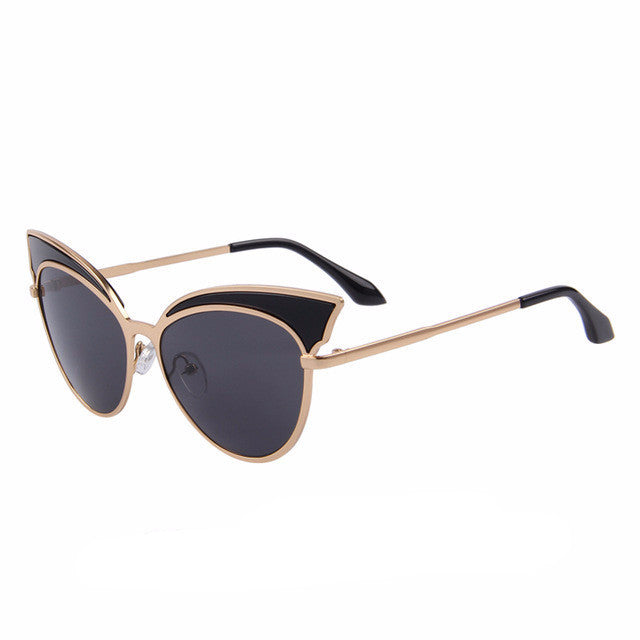 9a4af89287aba Metal Frame Cat Eye Sunglasses - Greaser Lifestyle Affordable Clothing    Accessories