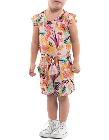 girls tropics playsuit
