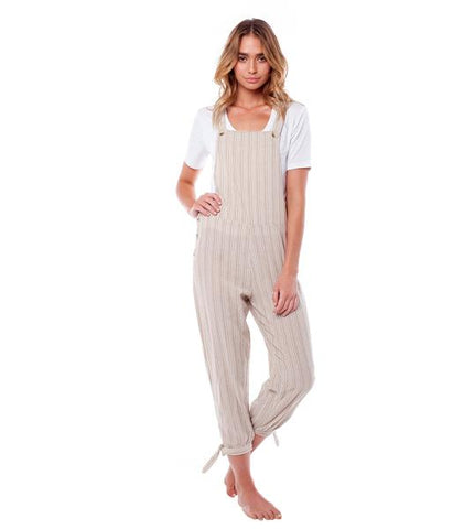women's tan jumpsuit