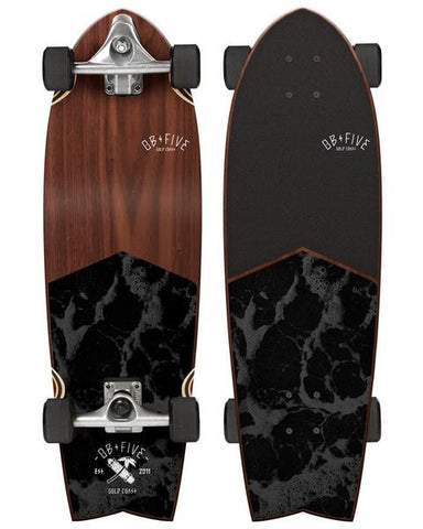 cruiser skateboards dark wood