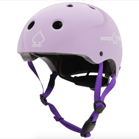 Anchor Chief Purple Skateboard Helmet