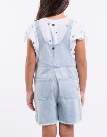 girls jean jumpsuit