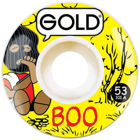 Image of Gold Wheel Gang Boo 53mm-GOLD-Anchor Chief