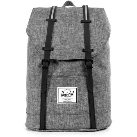 Herschel Retreat - Raven Crosshatch/Black Rubber-HERSCHEL-Anchor Chief