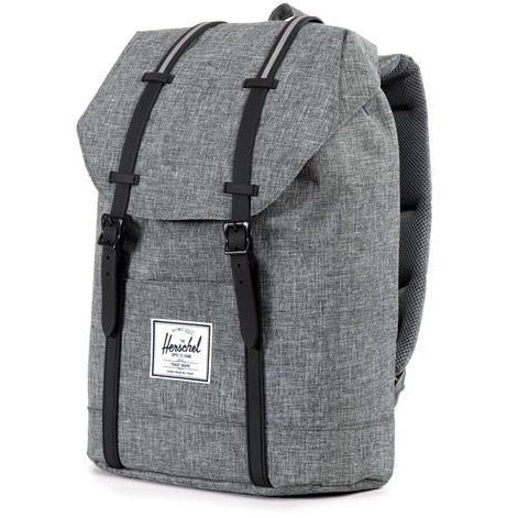 Image of Herschel Retreat - Raven Crosshatch/Black Rubber-HERSCHEL-Anchor Chief