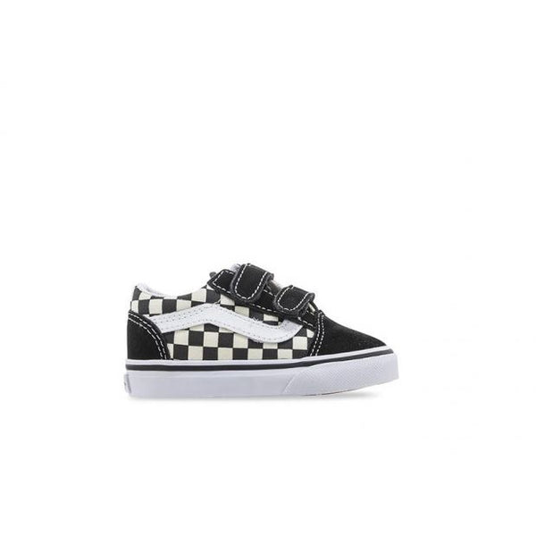 Vans Toddler Old Skool V Primary Check-VANS-Anchor Chief