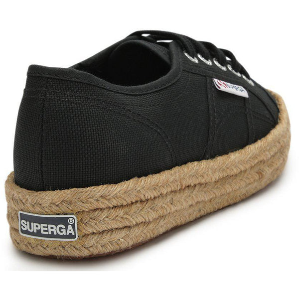 Superga Cotropew - Black-SUPERGA-Anchor Chief