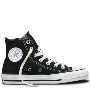 Converse Chuck Taylor Canvas Hi Top - Black-CONVERSE-Anchor Chief
