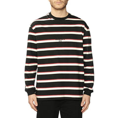 Globe All Out Stripe L/S Tee-GLOBE-Anchor Chief