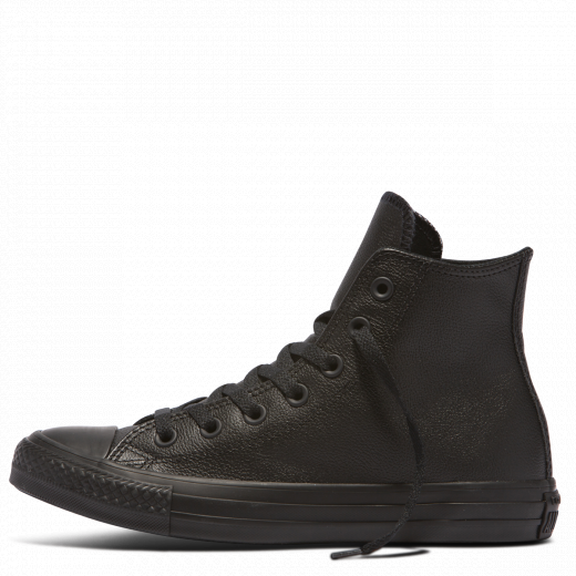 Converse Kids Chuck Taylor Hi Top - Black Mono-CONVERSE-Anchor Chief