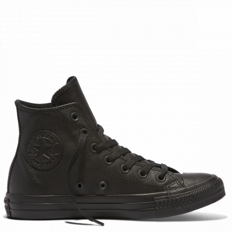 Chuck Taylor Hi Black Mono-CONVERSE-Anchor Chief