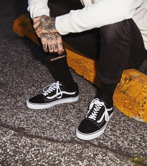 Vans Old Skool - Black/White-VANS-Anchor Chief