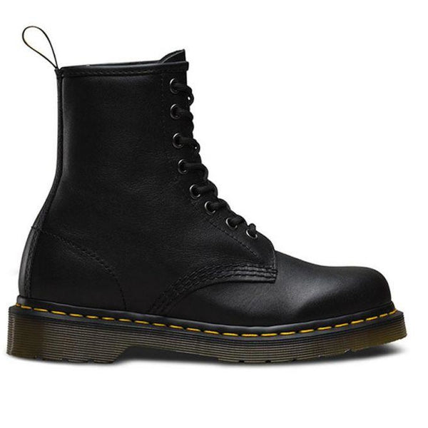 Dr. Martens 1460 8 Eye Boot - Black Nappa-DR MARTENS-Anchor Chief