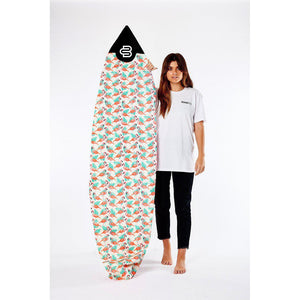 Board Sox - Flamingo Shortboard-BOARDSOX-Anchor Chief