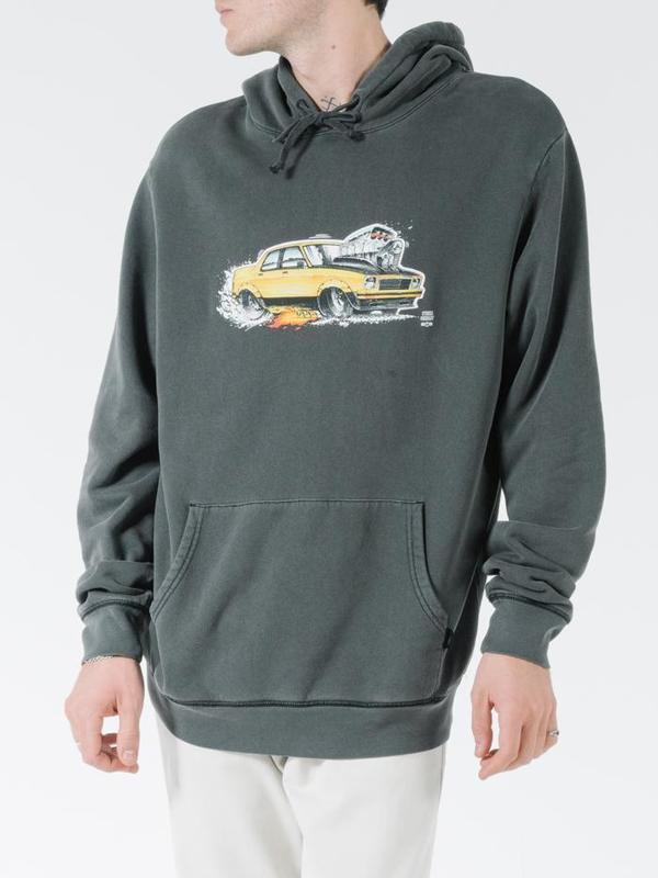 Thrills Ryan Ford Torana Pull On Hood - Merch Black