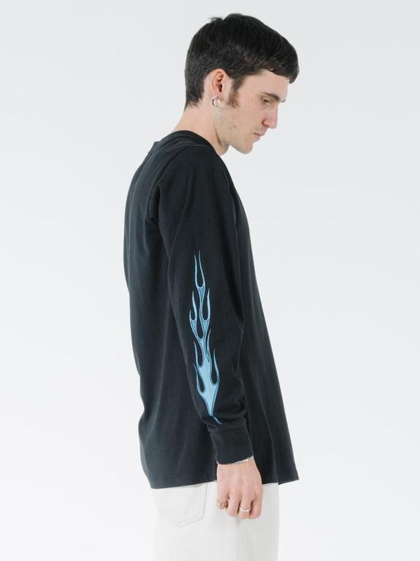 Thrills Gateway Merch Fit LS Tee - Black