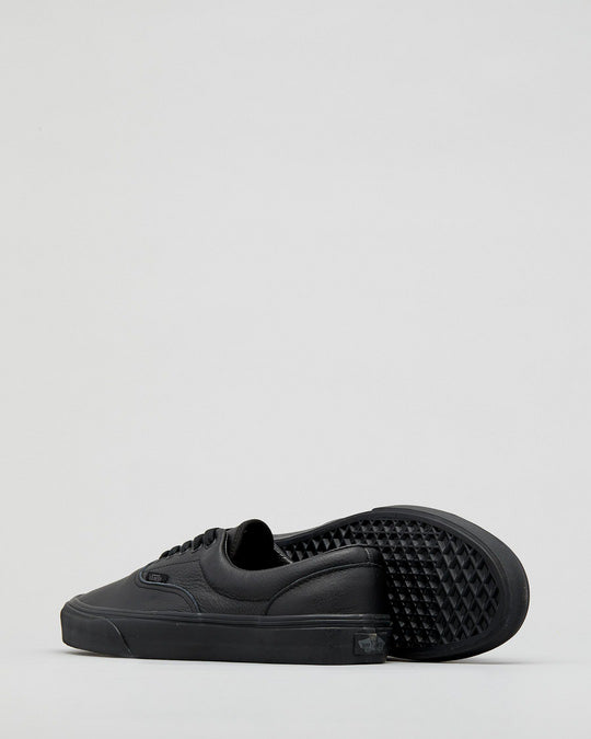 Vans Era Leather - Black Mono-VANS-Anchor Chief
