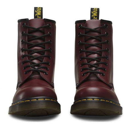 Image of Dr. Martens 1460 8 Eye Boot - Cherry Smooth-DR MARTENS-Anchor Chief